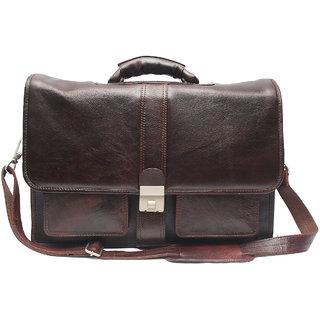 Comfort EL09 Leather Shoulder Bags For Men (Color Brown)