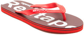 Red Tape Men'S Red Casual Flip Flop