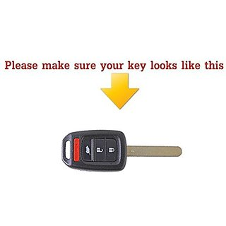 Buy 2 Button Car Remote Silicone Key Case Shell Cover Fob Skin Cover