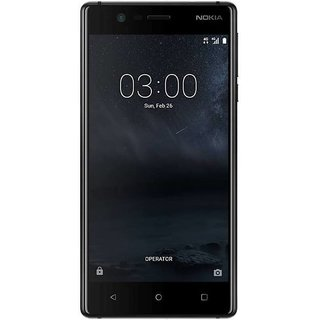 Nokia 3 (2 GB, 16 GB, Matte Black)