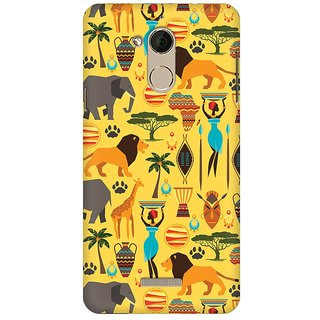 Mobicture Tribal Africa Premium Printed High Quality Polycarbonate Hard Back Case Cover For Coolpad Note 5 With Edge To Edge Printing