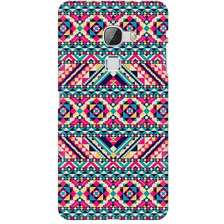 Mobicture Tribal Aztec Premium Printed High Quality Polycarbonate Hard Back Case Cover For LeEco Le Max With Edge To Edge Printing