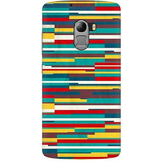 Mobicture Abstract Pattern Premium Printed High Quality Polycarbonate Hard Back Case Cover For Lenovo A7010 With Edge To Edge Printing