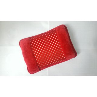 HEJ Electric Hot Water Bag Heating Pad of Fur and Velvet with Hand Pocket