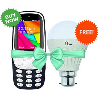 BUY IKall K35 2.4 Inch Dual Sim Bis Certified Made In India GET 9Watt LED Bulb Free