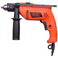 Black  Decker 500 watt 13mm Variable Speed Reversible Hammer Drill Machine