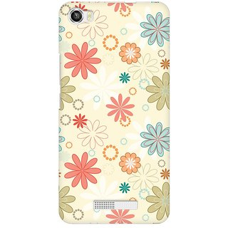Mobicture Floral Romance Premium Printed High Quality Polycarbonate Hard Back Case Cover For Lava Iris X8 With Edge To Edge Printing