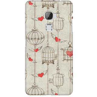 Mobicture Cage Of Love Premium Printed High Quality Polycarbonate Hard Back Case Cover For LeEco Le Max With Edge To Edge Printing