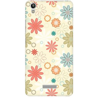 Mobicture Floral Romance Premium Printed High Quality Polycarbonate Hard Back Case Cover For Lava Pixel V1 With Edge To Edge Printing
