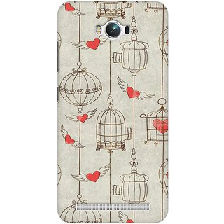 Mobicture Cage Of Love Premium Printed High Quality Polycarbonate Hard Back Case Cover For Asus Zenfone Max With Edge To Edge Printing