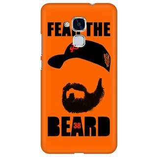 Mobicture Fear The Beard Bud Premium Printed High Quality Polycarbonate Hard Back Case Cover For Huawei Honor 5c With Edge To Edge Printing