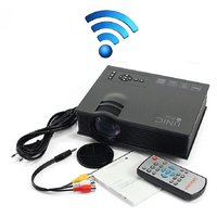 Mini Portable LED Projector WiFi / HDMI / SD Card/ AV /