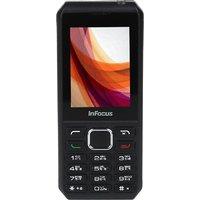 InFocus F210 (2.4 Inch Display, Dual SIM, Grey Black)