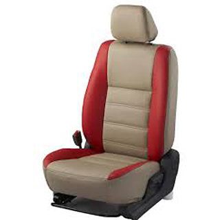 Musicar Renault Scala Beige  Leatherite Car Seat Cover with1 Year Warranty And  Steering cover  Free