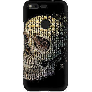 Mobicture Evolution Of The  Premium Printed High Quality Polycarbonate Hard Back Case Cover For Google Pixel XL With Edge To Edge Printing