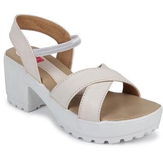 N-Gal Women's Beige Heels