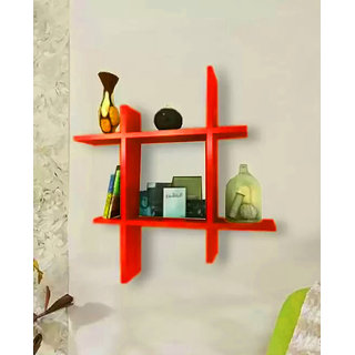 The New Look Plus Style Wooden Wall Shelf