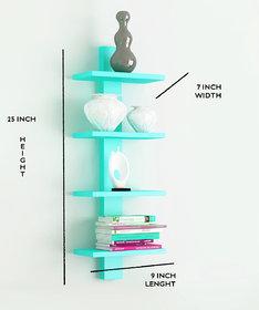 The New Look 4 Tier Wooden wall Shelf