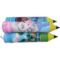 PEPUP Birthday Return Gift - Funny Pencil Shaped Case / Pouch for Girls (Pack of 5)