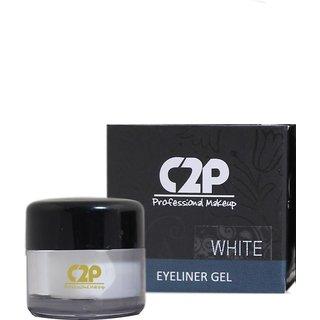 C2P Professional Make-Up Eyeliner Gel White 4 GRM