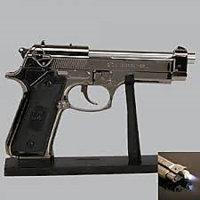 Python  Gun Pistol Lighter (IMPORTED FIRST TIME IN INDIA) In Box Packing