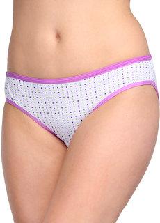 Oleva Dots Print Panty Light Purple-OP