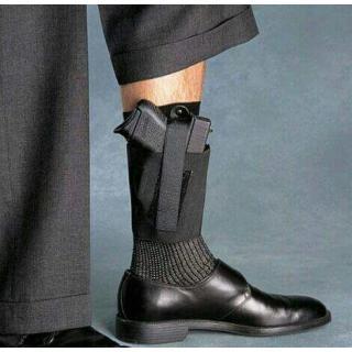 Manav Revolver And Pistol Leg Cover (Lastic)