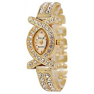Onsgroup Ladies Diamond Analog Watch