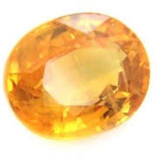 9.5 Ratti Yellow Sapphire Ceylon Mined Pukhraj Gemstone