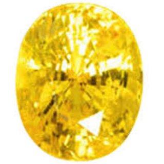 7.25 Ratti Pitambari Neelam Yellow Sapphire IGL Certified