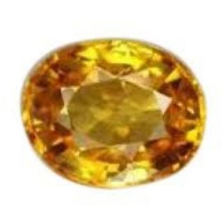 7.5 Ratti Pitambari Neelam Yellow Sapphire IGL Certified