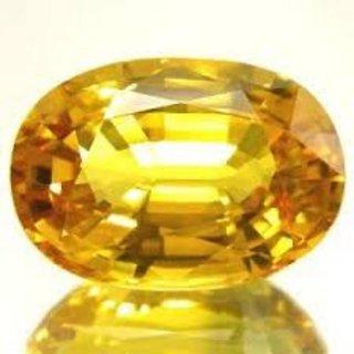 8.25 Ratti Pitambari Neelam Yellow Sapphire IGL Certified