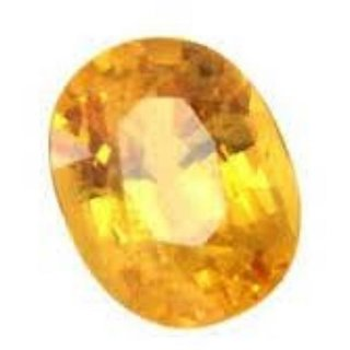 Yellow Sapphire Natural Certified Original Unheated Gemstone 7.5 Carat BY Durga gems