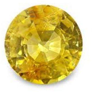 6.5 Ratti Pitambari Neelam Yellow Sapphire IGL Certified