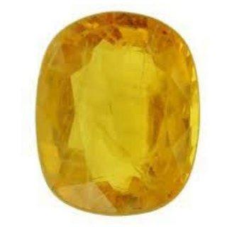 Yellow Sapphire Natural Certified Original Unheated Gemstone 10.5 Carat BY Durga gems