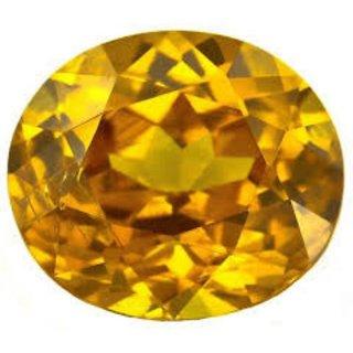 9.25 Ratti Pitambari Neelam Yellow Sapphire IGL Certified