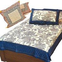 Buy Single Bedsheet N Get Cushion Cover Set Free
