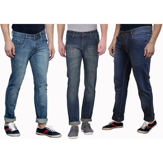 QNINE PACK OF 3 DENIM FOR MEN