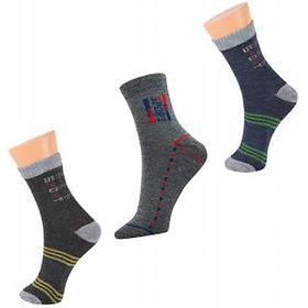 Sale Pack Of 3 Pair Socks Assorted Colors