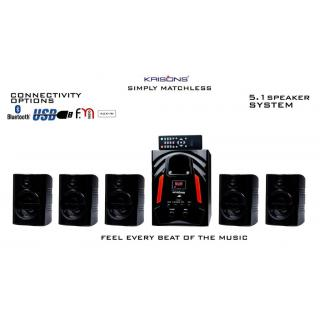 Krisons Jazz 5.1 Bluetooth Home Theater System