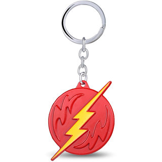 EzziDeals Flash Dc Metal Keychain for keys and bag tags