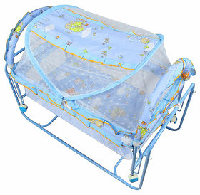 Oh Baby, Baby Iron Cradle (jhulla and palna) With Mosquito Net For Your Kids   SE-JP-45