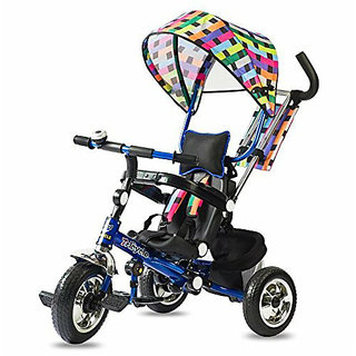 OH BABY Cycle Baby TricycleWITH CYCLE COLOR MULTI SE-TC-83