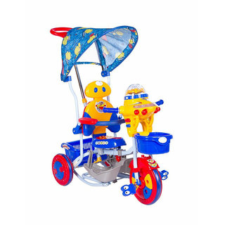 OH BABY HUD SEAT Tricycle with Cycle with Canopy COLOR (BLUE)SE-TC-150