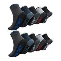 Destination Mens Ankle Socks Pack of 5 Pair- GS-5-65