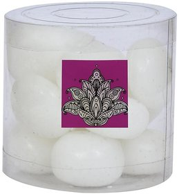 Light Jewels White Floating Nuggets Candles set of 15 candles Diwali/Christmas decorations