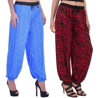 Adonia Women's Multicolor Harems Pack of 2