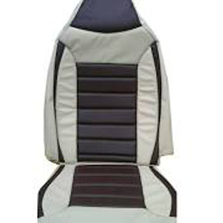 Musicar Maruti Ritz Beige Leatherite Car Seat Cover with 1 Year Warranty And Steering cover Free