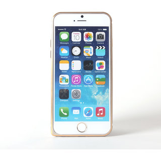 Callmate Metal Bumper for iPhone 6 4.7 inch  with Free Screen Guard - Golden