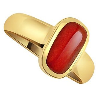 only4you 8 .25 RATTI RED CORAL STONE RING